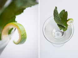 Martinis with Mint Image