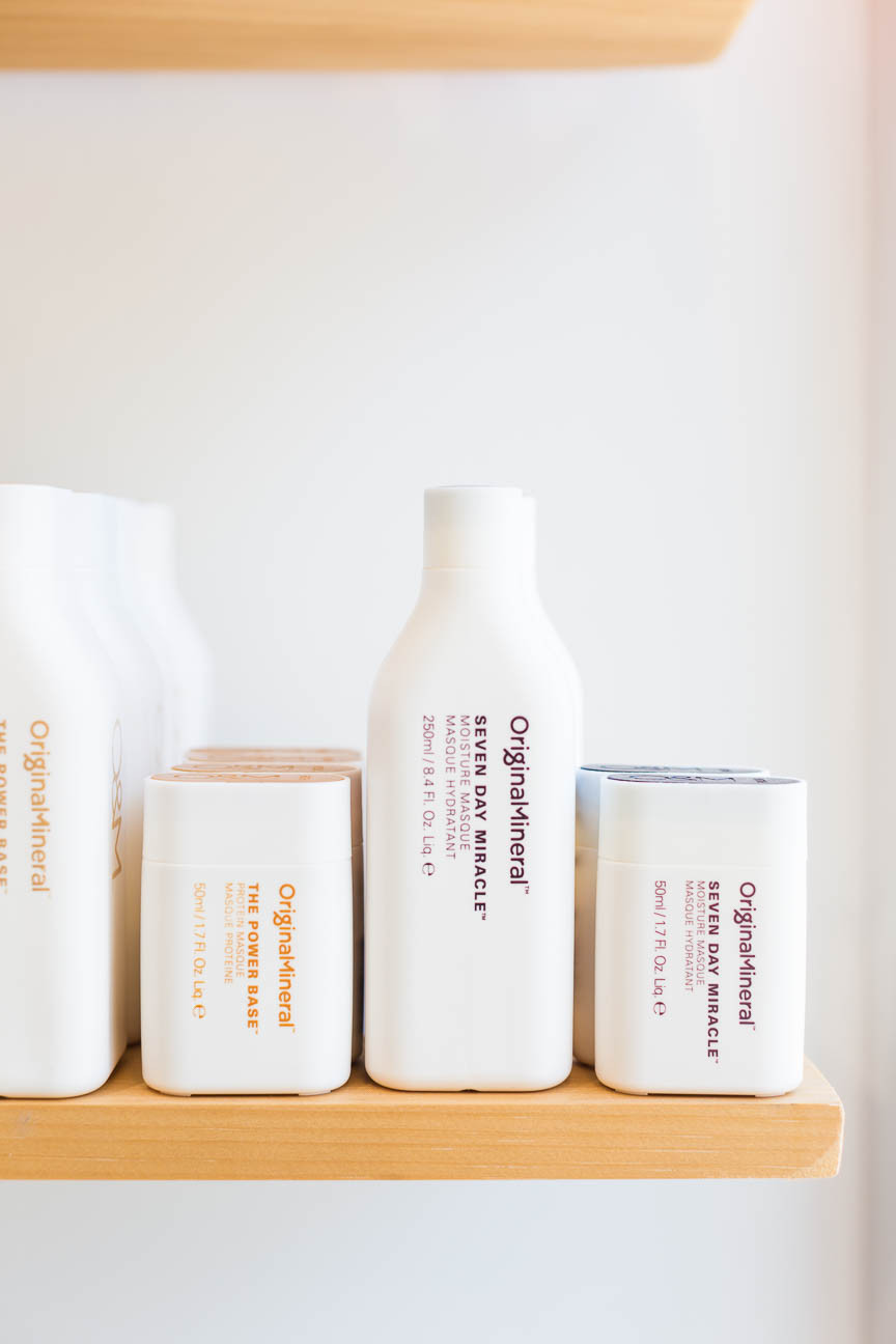 Original Mineral hair products