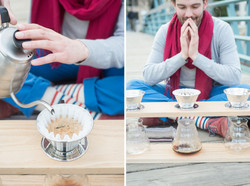Vagabond Barista Making Coffee Image