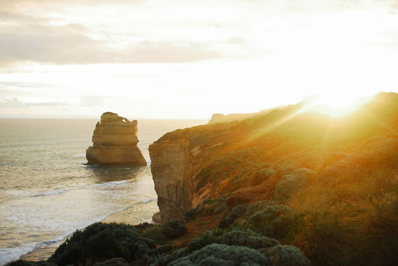 12 Apostles Landscape at Sunset