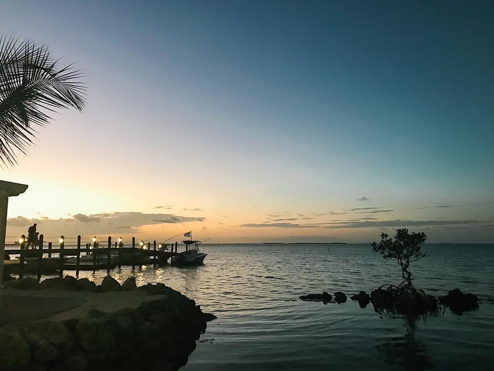 Sunset at Marker 88 Restaurant, Islamorada, FL
