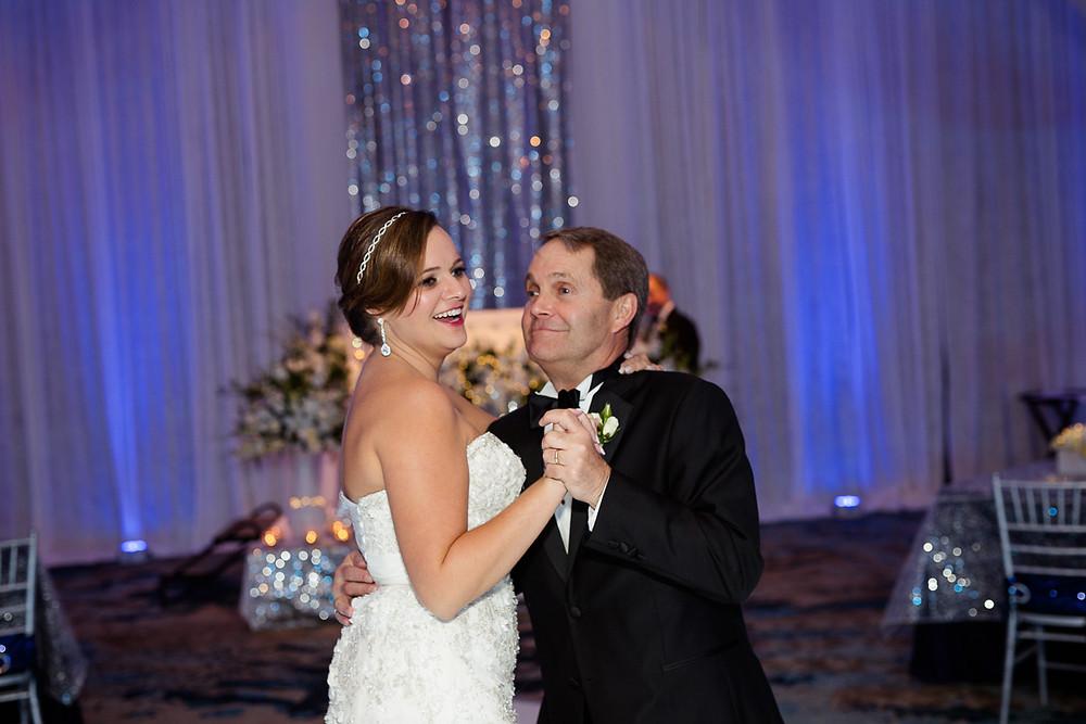Father daughter dance, Florida Keys Wedding, destination wedding, southern weddings, wedding photography