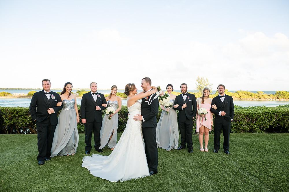 Portrait of Wedding Party, Florida Keys Wedding, destination wedding, southern weddings, wedding photography