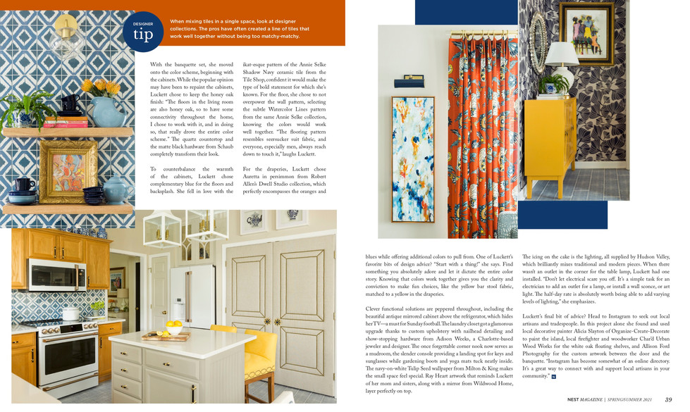 Dwell by Cheryl feature in Nest Mag