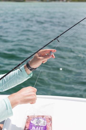 man-ties-fishing-line