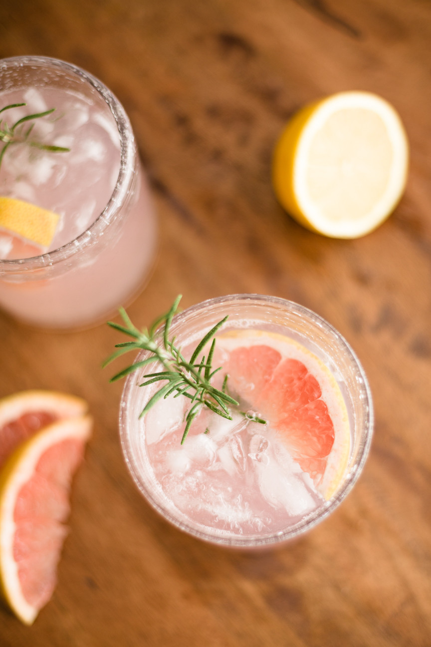 citrus drink, cocktails, food styling, food photography, commercial photography