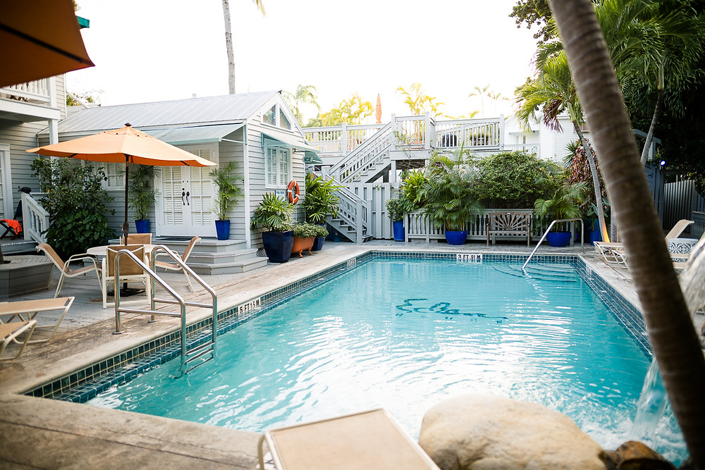 Pool at Eden House, Key West, FL