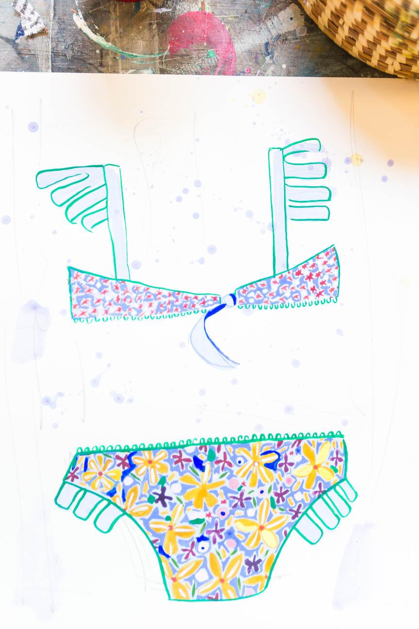 image of bikini art by dorothy shain
