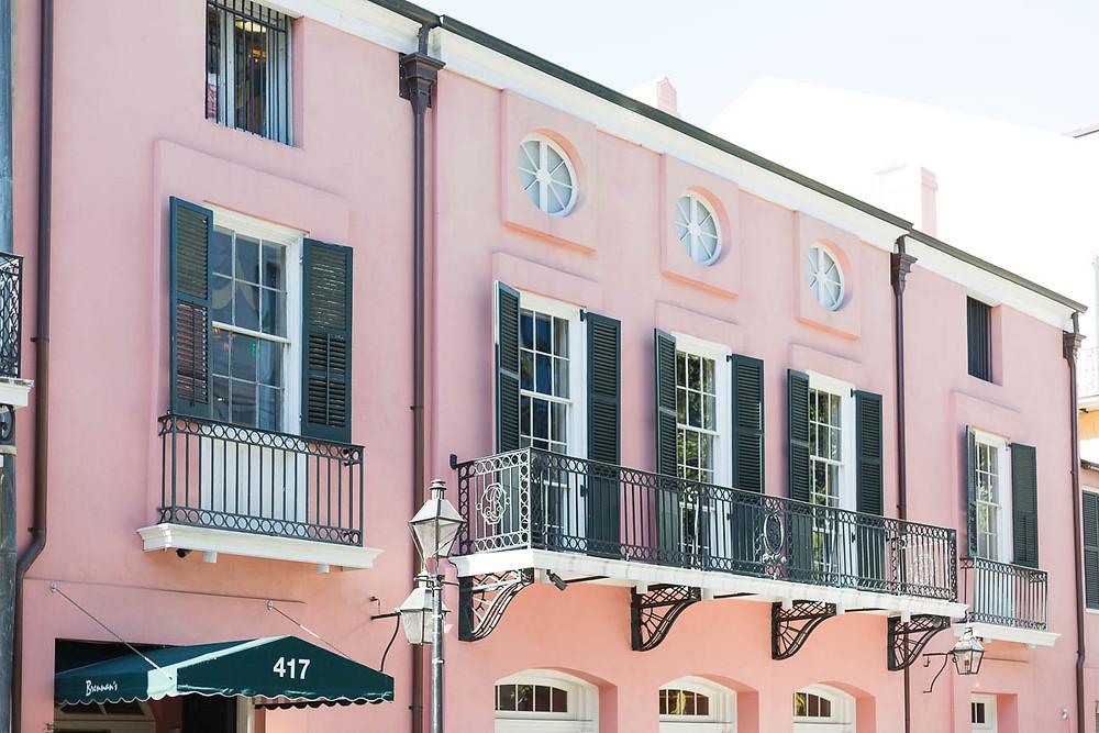 Brennan's restaurant exterior