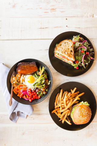 Pork-belly-bibimbap-tomato-sandwhich-and