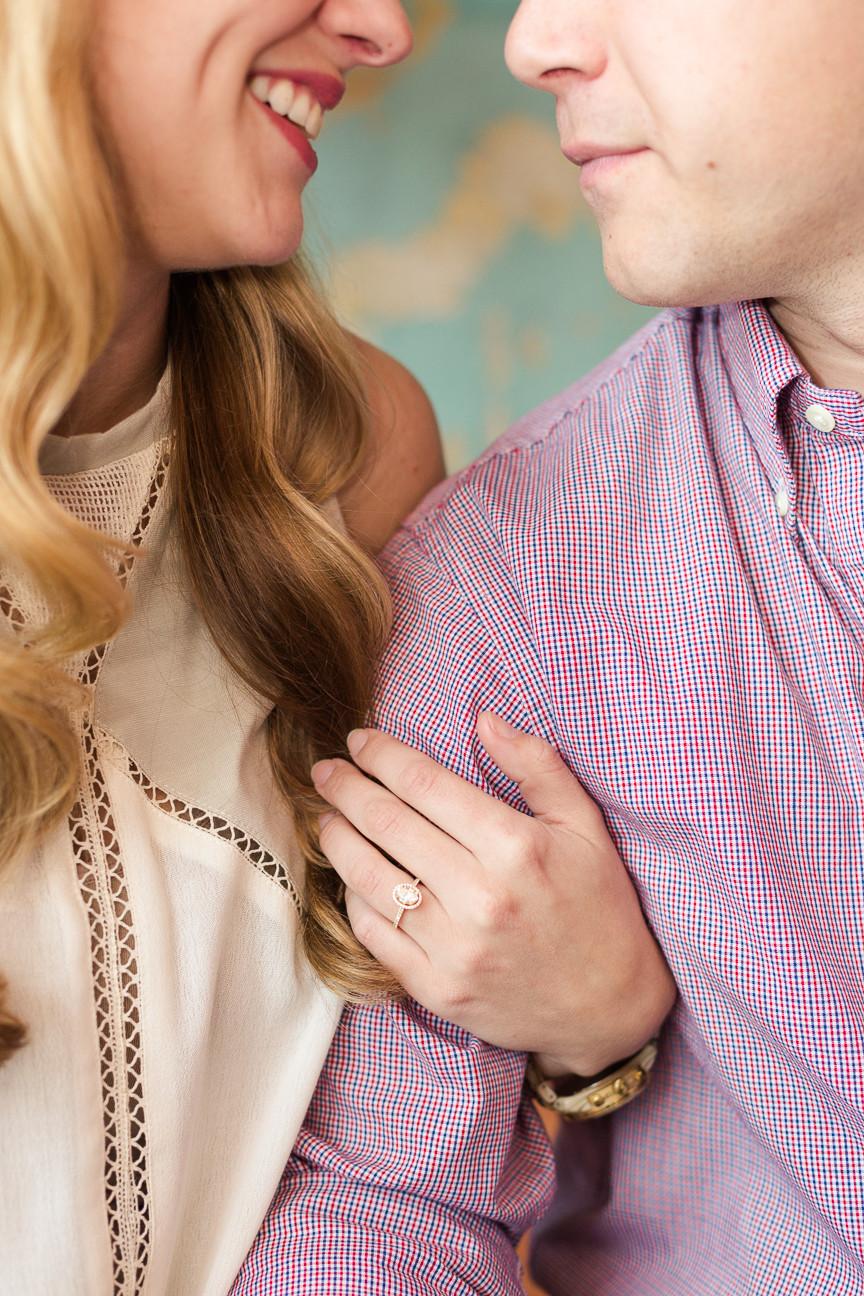 engagement ring, Asheville engagement session