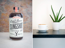 Coffee Product and Latte Image