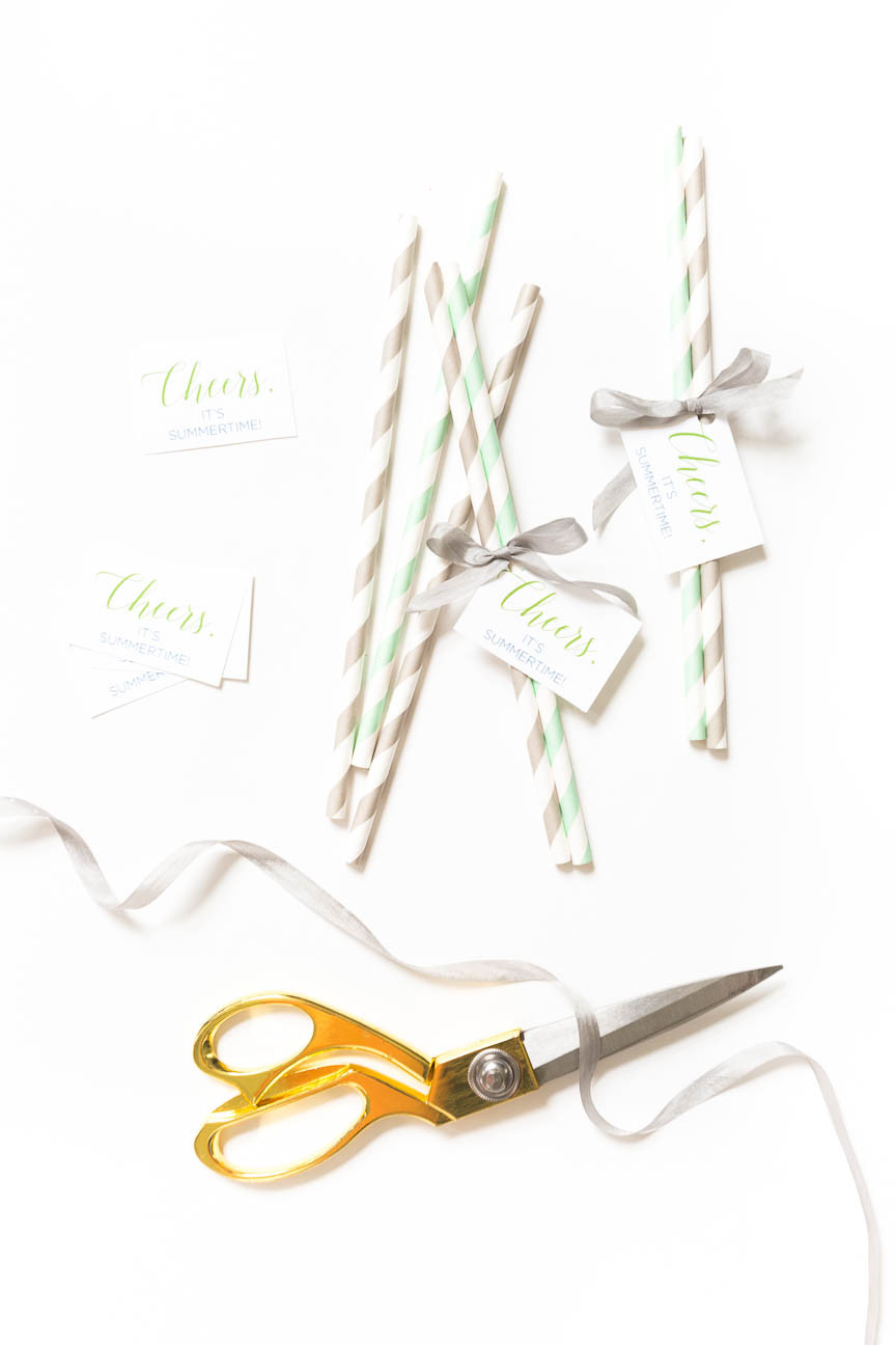 image of straws for marketing package