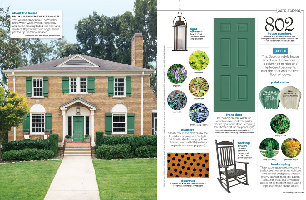 Greenville, SC home in editorial