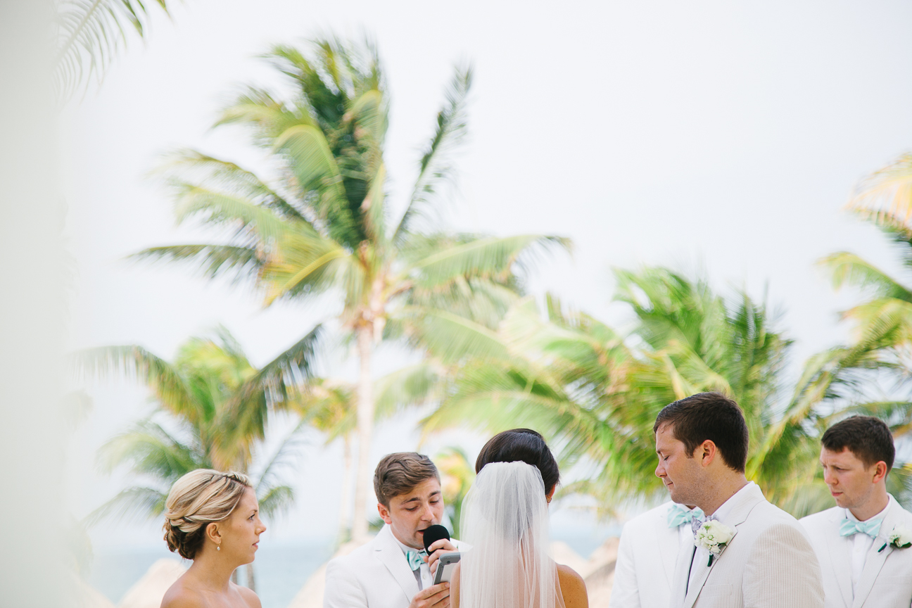 Mexico destination wedding ceremony