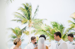 Mexico destination wedding ceremony