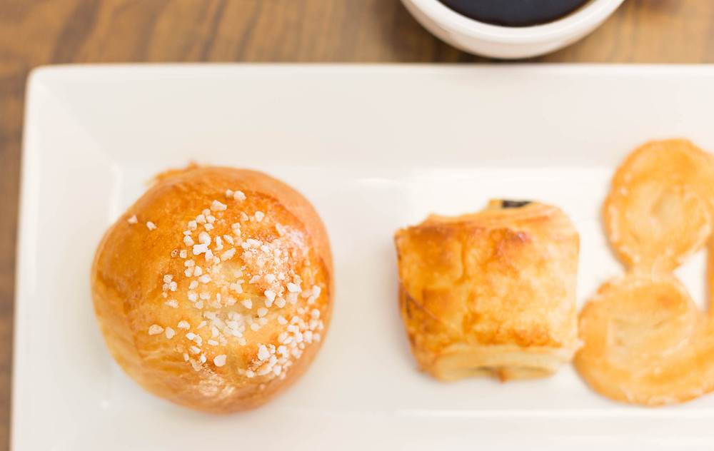 Pastries from LeGrand Bakery, the last stop on the Breakfast Tour by Greenville History Tours