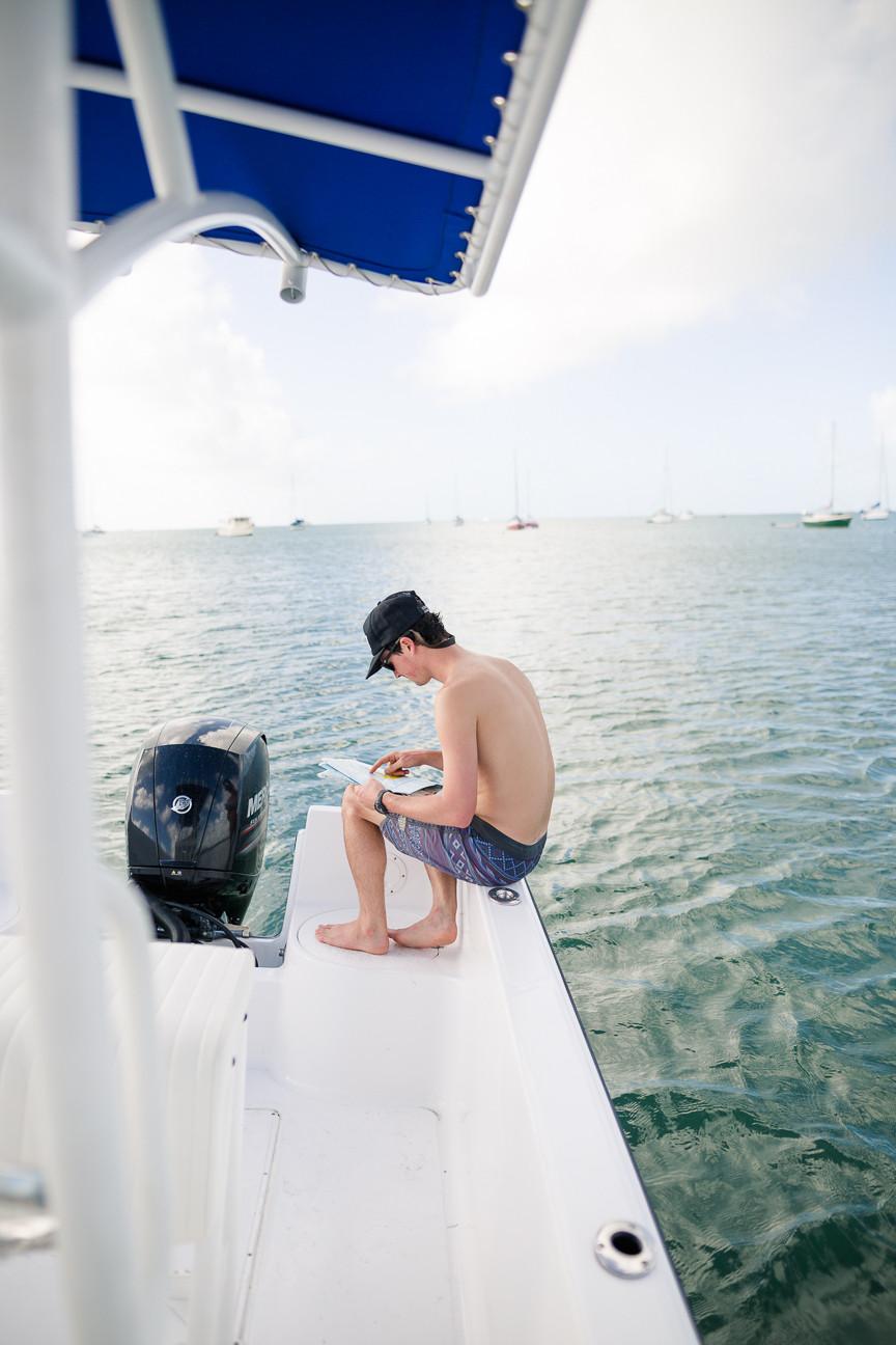 Ned on Boat in Key West, FL