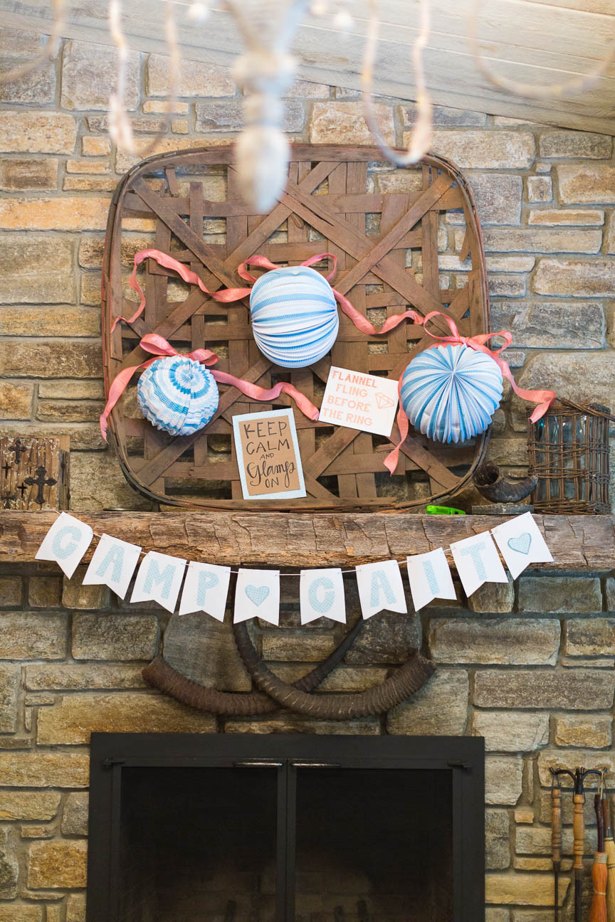 image of glaming decor for bachelorette party