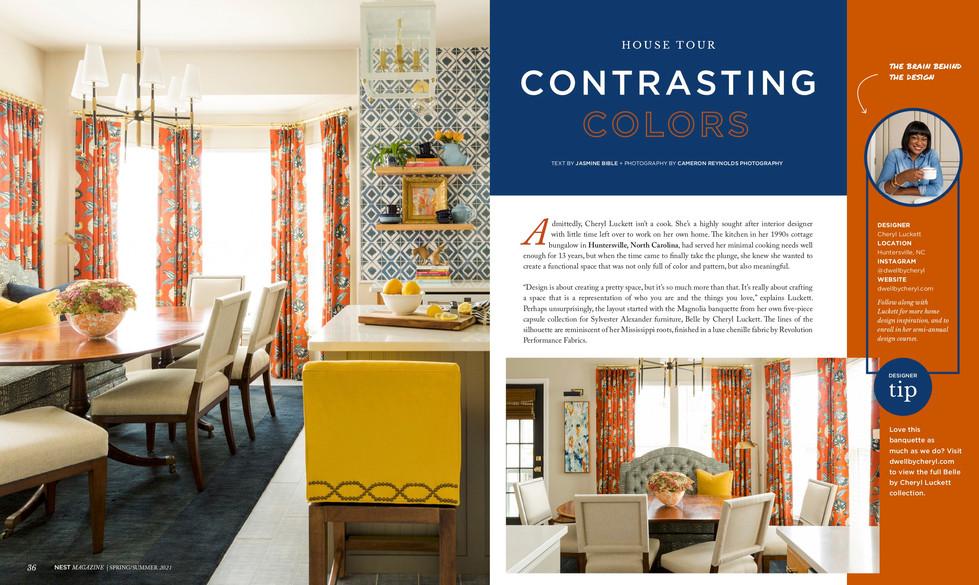 NEST Magazine interior design article 1