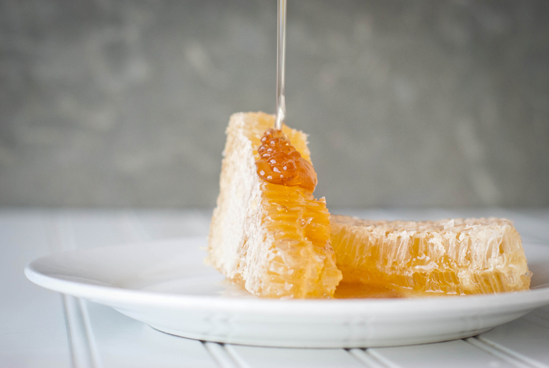 Honeycomb with Honey Drizzle Image