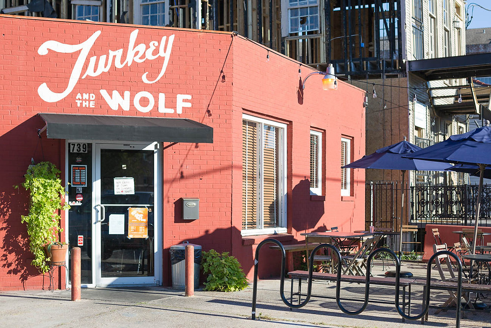Turkey and the Wolf restaurant in New Orleans