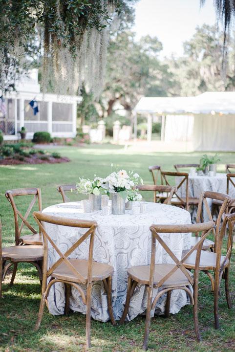 Table Scape Image at Charleston Wedding