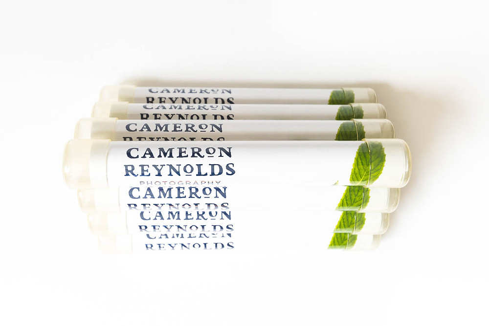 image of clear tube mailers for marketing campaign