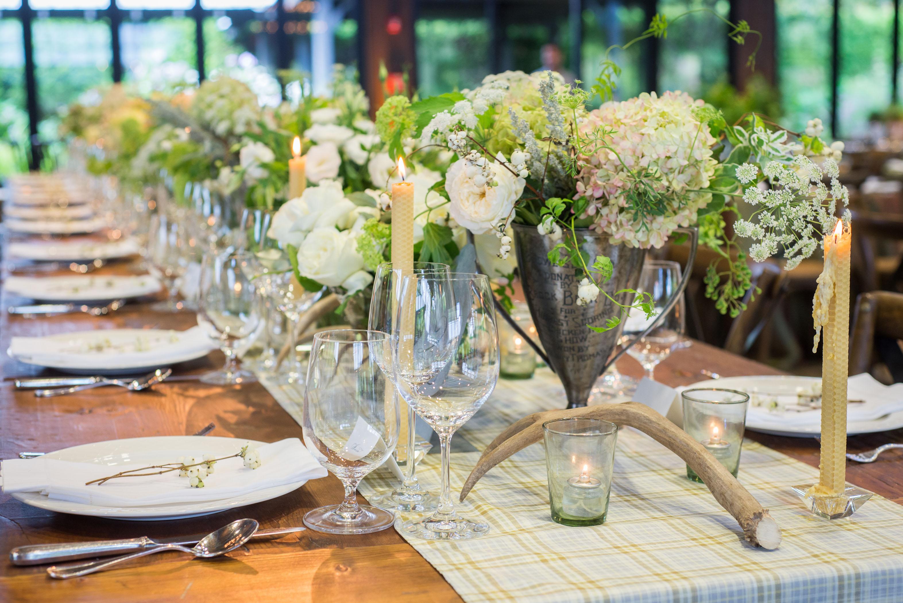 Table Detail at Wedding Image