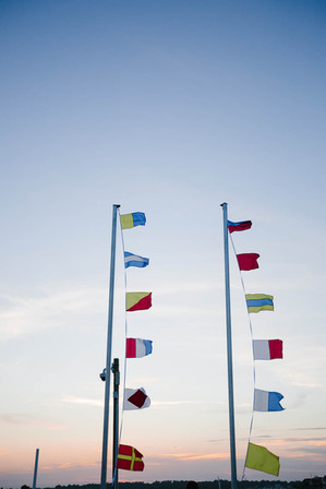 Nautical-flags-in-Wrightsville-Beach-NC_