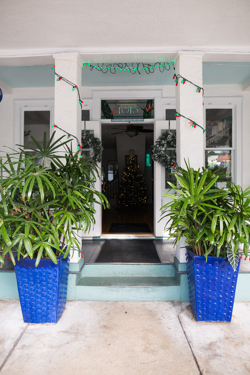 Eden House Hotel entrance, Key West, FL