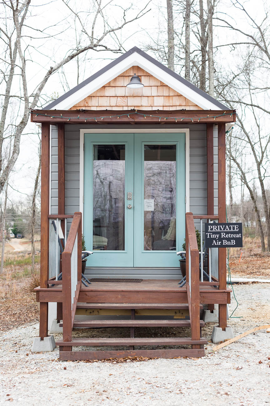 tiny home exterior, Greer SC