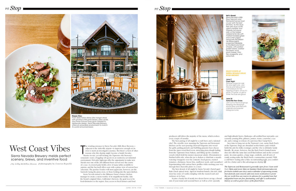 Pit-Stop-article-about-Sierra-Nevada-brewery-in-town-magazine