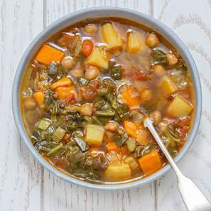 מרק חרירה צמחוני / טבעוני (ללא גלוטן)