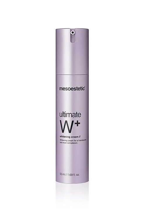 Mesoestetic Ultimate W+ Whitening Cream - dag en nachtcreme