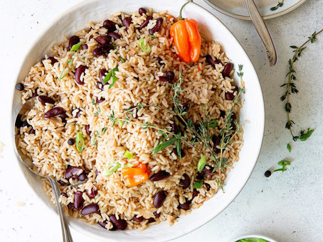 NUH BUN DI RICE & PEAS: A SIMPLE GUIDE to MAKING THE PERFECT RICE & PEAS