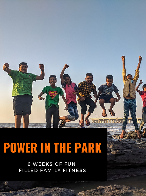 Power in the Park {Kids Edition}