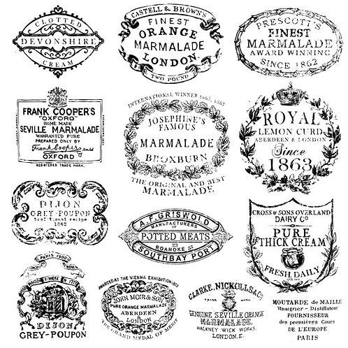 Crockery Stamp