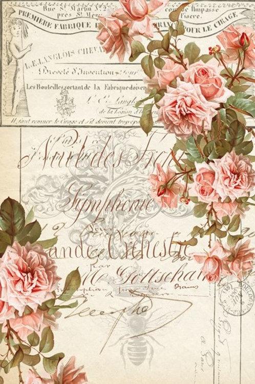 Floral Ephemera Decoupage