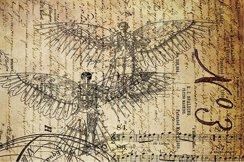 Dreams of Flight A Decoupage