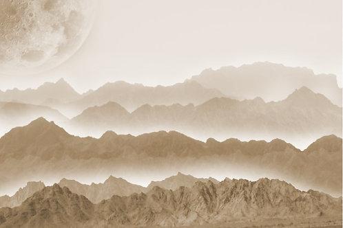 Misty Mountains Decoupage