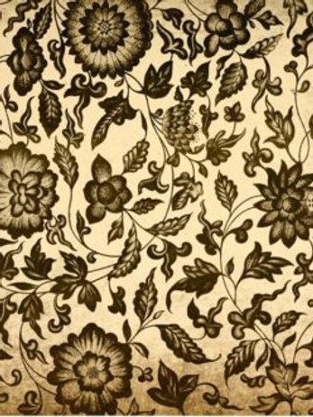 Grungy Floral Decoupage