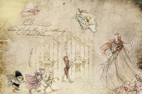 Fairies Decoupage