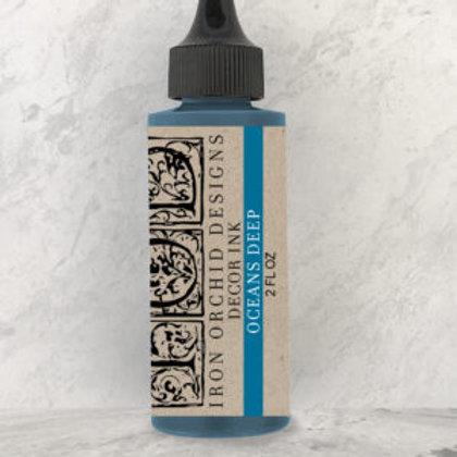 Blue Decor Ink