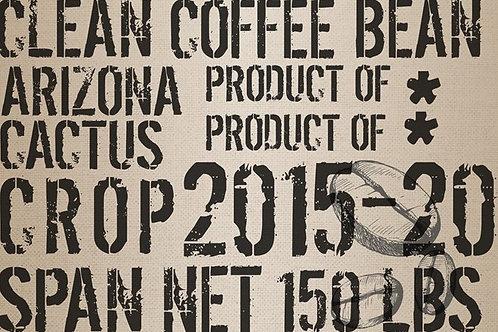 Coffee Sack Decoupage