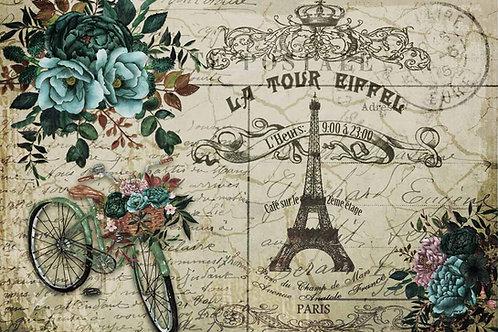La Tour Eiffel Decoupage