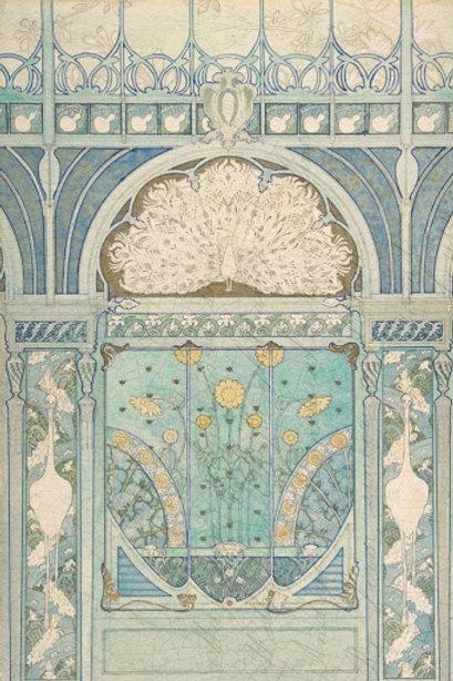 Art Deco Decoupage