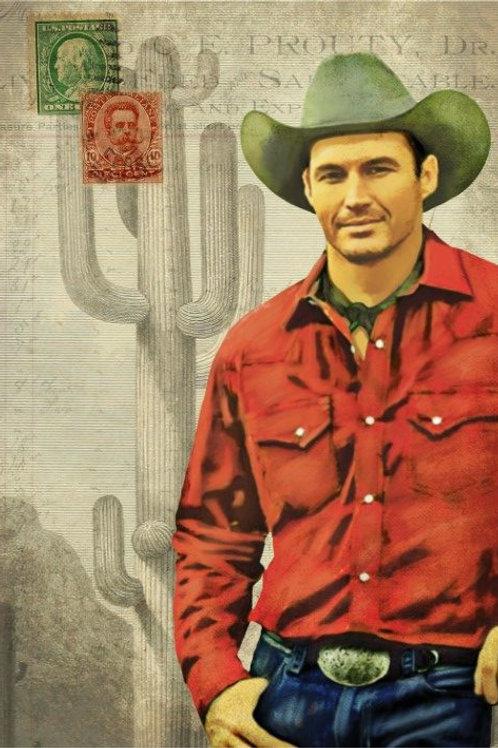 Cowboy Decoupage