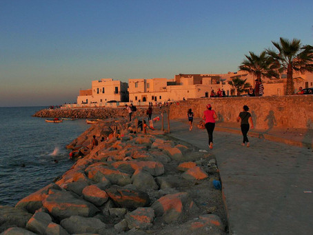 The charming town of MAHDIA