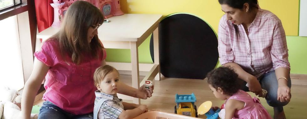 Mother toddler class